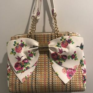 Betsey Johnson Welcome To The Big Bow Satchel